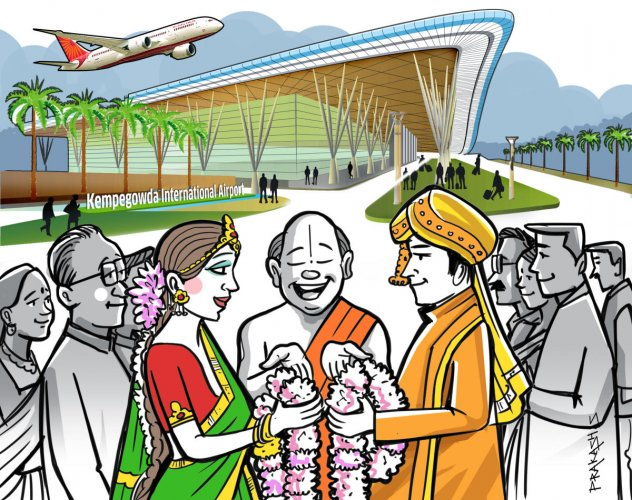 Once complete, the facility would be the first of its kind for an Indian airport, a BIAL spokesperson told DH. Besides hosting grand weddings, it will be spacious enough to host a wide range of events. This could mean music concerts, award shows, exhibitions and conventions.