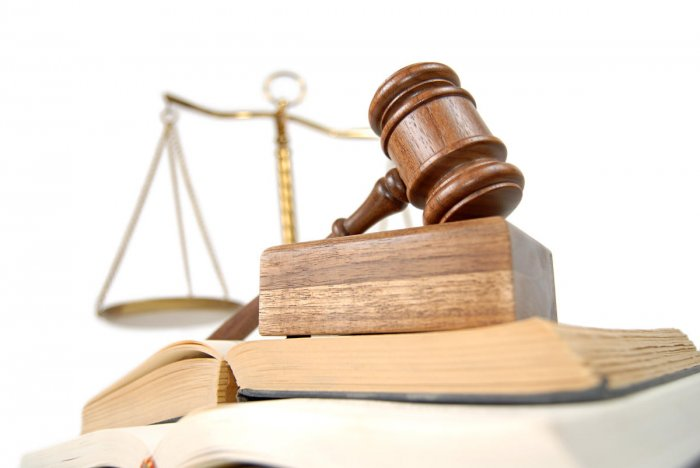 Concept of legal studying isolated on whitelaw