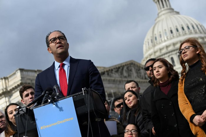 "Will Hurd made the decision ""in order to pursue opportunities outside the halls of Congress to solve problems at the nexus between technology and national security,"" he said in a statement."