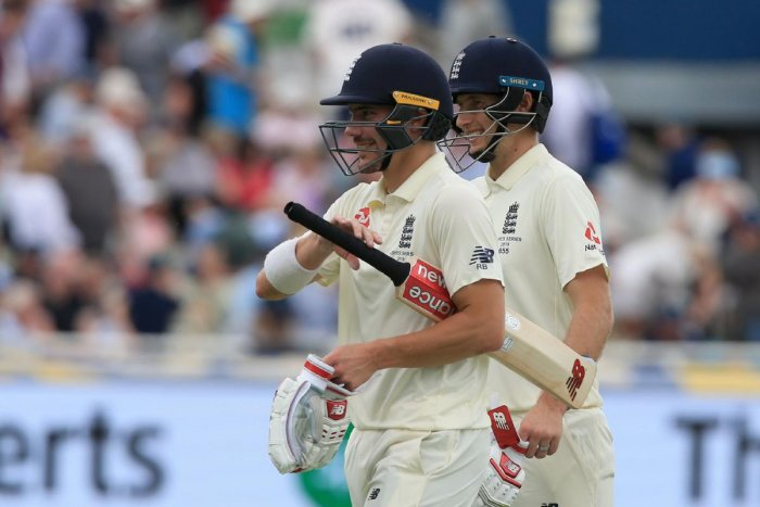 Rory Burns and England captain Joe Root kept Australia at bay on the second day of the first Ashes Test at Edgbaston. (AFP Photo)