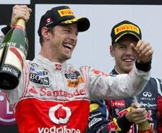 Button clinches Canadian Grand Prix thriller