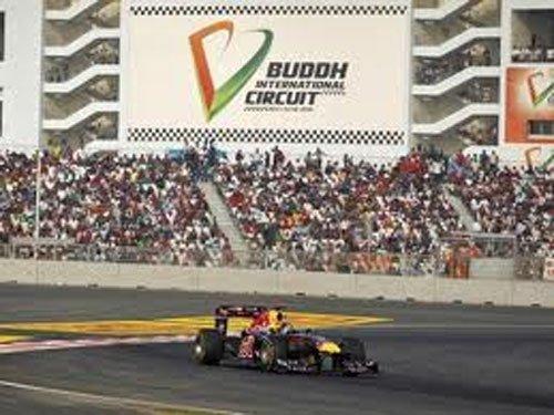 Formula One Grand Prix in Greater Noida Oct 25