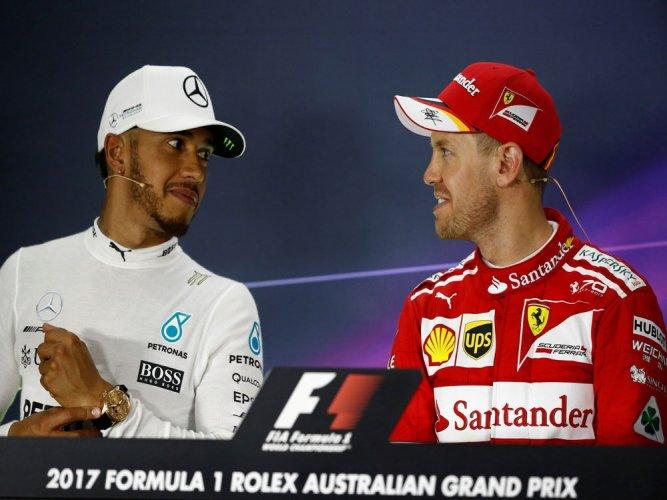 Vettel masters Hamilton to win Australian Grand Prix