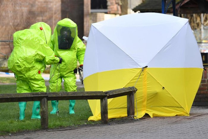 A fresh round of sanctions were imposed on Moscow on August 3, 2019 by the United States over the 2018 poisoning of former double-agent Sergei Skripal in the United Kingdom. (AFP File Photo)