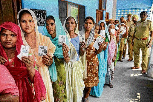 About 69 pc voting in Haryana's  civic polls