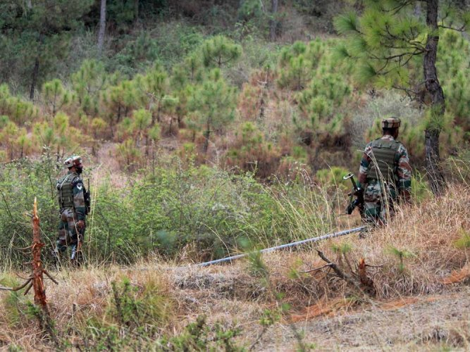 Lying in the open in a forested area near the LoC, the bodies could be of terrorists or Pakistan SSG personnel killed in action. (PTI File Photo. For representation only)