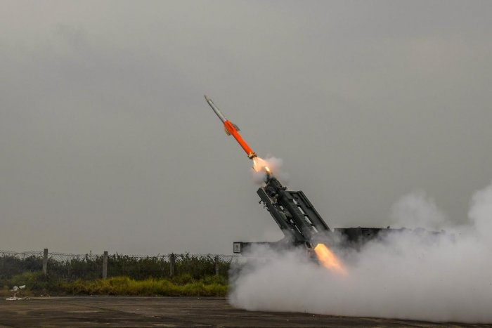 The state-of-the-art missile has been developed by the Defence Research and Development Organisation (DRDO) for the India Army. PTI file photo for representation.
