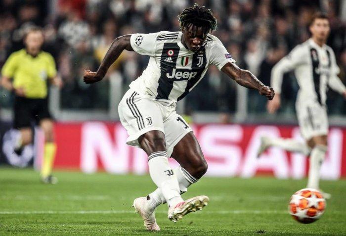 Moise Kean made hi debut for Juventus as a 16-year-old (AFP File Photo)
