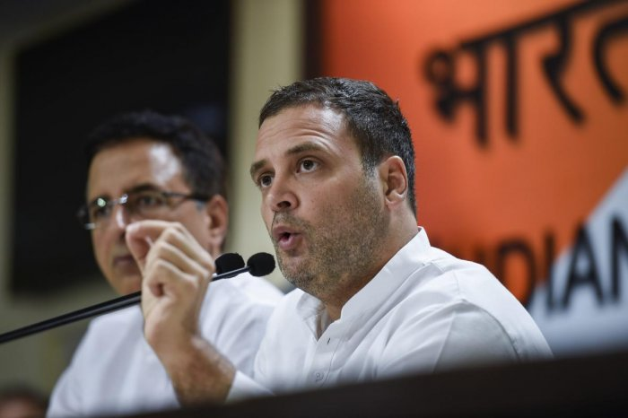 The Congress Working Committee will meet on August 10, with finding Rahul Gandhi's successor likely to top the agenda when the party's top brass meets at the AICC headquarters. PTI file photo