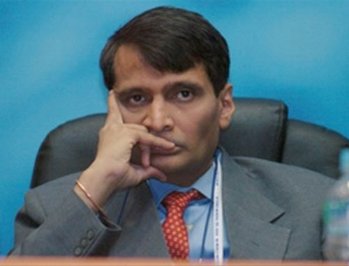 Shiv Sena frowns over inducting Suresh Prabhu in union cabinet