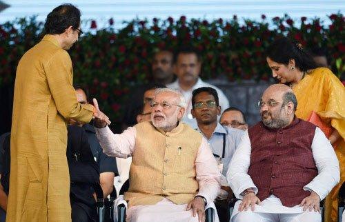 Modi cabinet rejig today; Shiv Sena bargains hard