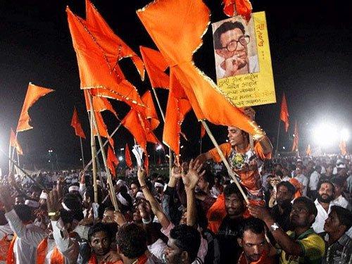 Honour Pakistani terrorists as peace doves: Shiv Sena tells BJP