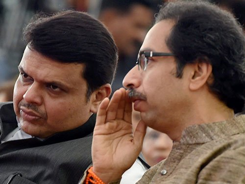 Don't need alliance  with Shiv Sena, says Fadnavis