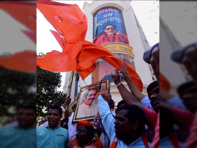 Where is the Diwali of 'achche din': asks Shiv Sena