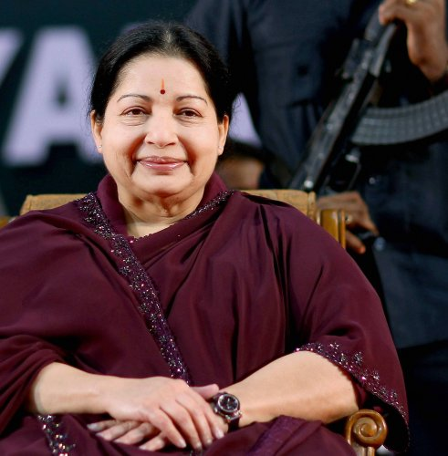 If J Jayalalithaa was alive today, she would have cheered the Narendra Modi government on its decision to abrogate Article 370. (File Photo)