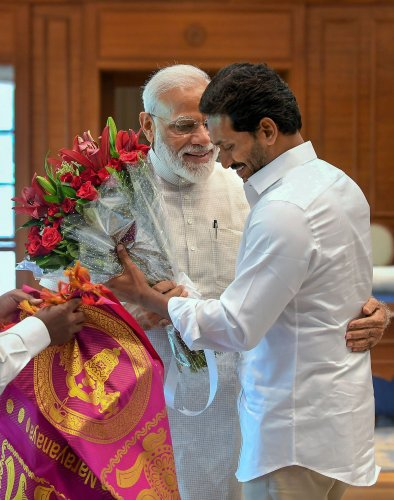 Political parties in Telugu states support govt's move | Deccan Herald