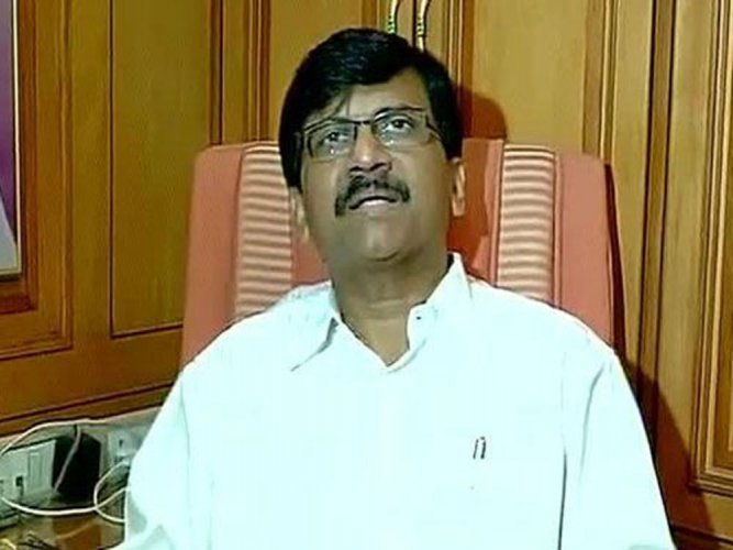 Shiv Sena MP Sanjay Raut. DH file photo