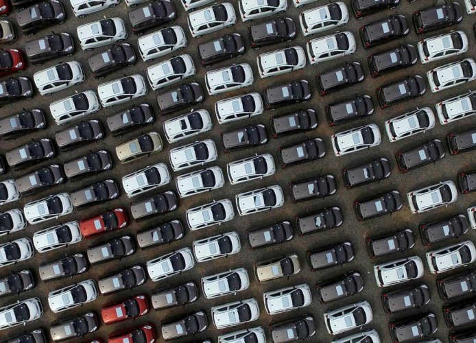 Preliminary data indicates passenger vehicle sales may have plunged as much as 30 percent in July. (Reuters File Photo. For representation only)