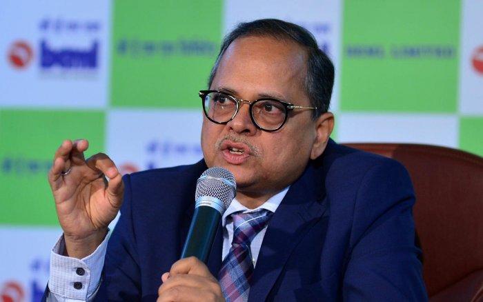 BEML Chairman Deepak Kumar Hota. DH Photo