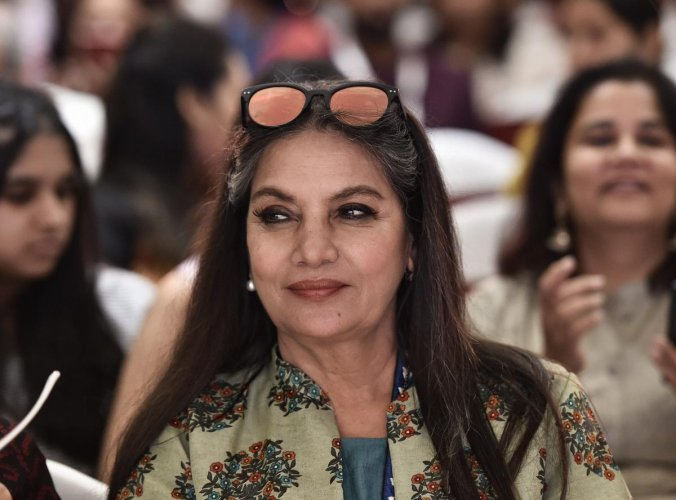 Azmi will be seen playing Admiral Margaret Parangosky, the head of the Office of Naval Intelligence in the adaptation of the video game of the same name (PTI File Photo)