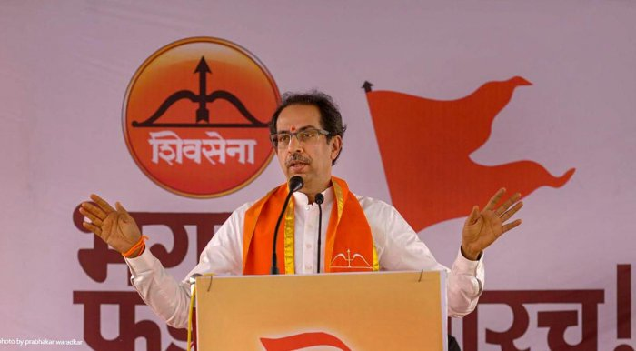 Shiv Sena president Uddhav Thackeray. PTI file photo