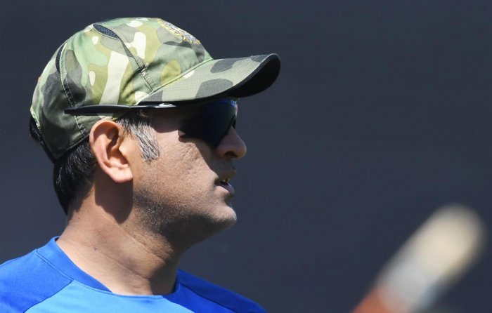 File picture of MS Dhoni. Photo credit: AFP
