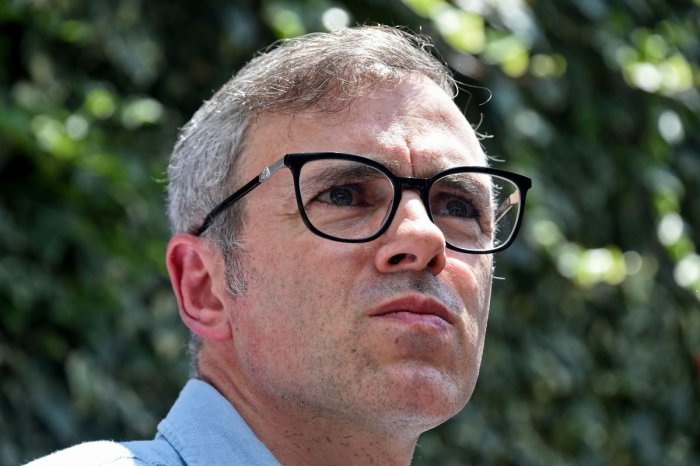 Former Chief Minister of Jammu and Kashmir Omar Abdullah (AFP File Photo)