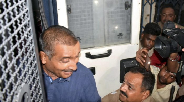 The main accused in Unnao rape scandal BJP MLA Kuldeep Singh Sanger being shifted from Sitapur prison to appear before Delhi court (PTI Photo)