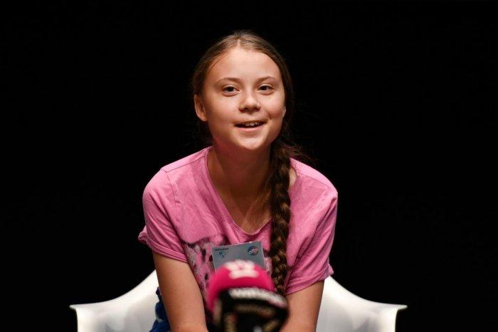 Swedish climate activist Greta Thunberg (AFP Photo)