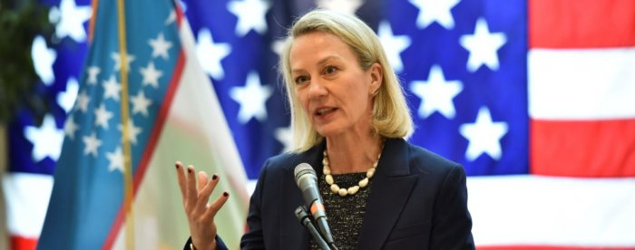 Alice Wells, a senior US diplomat, arrived here to hold key bilateral talks with Pakistani leaders. (Photo - U.S Embassy)