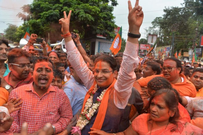 """The Bharatiya Janata Party (BJP) MP from Darjeeling, Raju Bista, said he was hopeful that the saffron party's promise of a """"permanent political solution"""" in the hills would be a reality by 2024. (AFP File Photo)"""