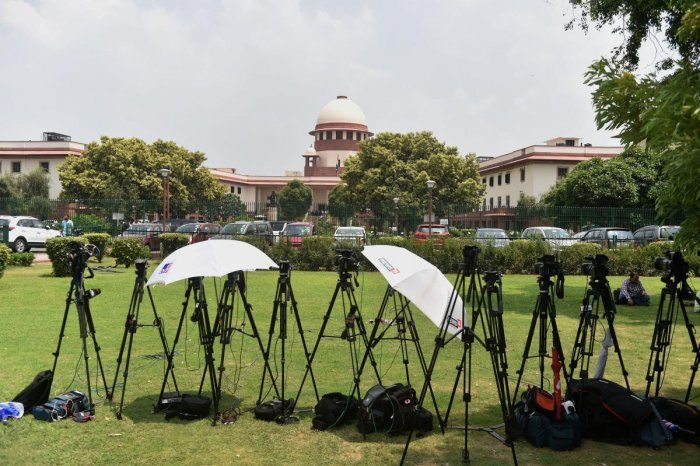"""Let us begin the hearing,"" said a five-judge Constitution bench headed by Chief Justice Ranjan Gogoi. (PTI File Photo)"
