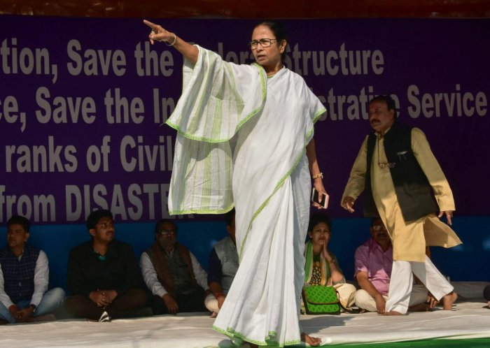 It is no secret that ever since TMC's inception in 1998, Mamata has been the only crowd-puller and mass leader of the party. But TMC's setback in the Lok Sabha elections has raised several questions on the practicality of its absolute dependence on Mamata. (PTI File Photo)