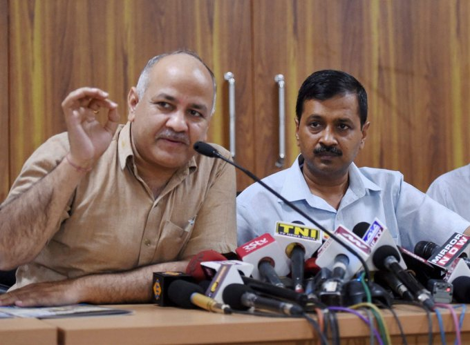 """Delhi govt will observe two days state mourning as a mark of respect in the memory of former Chief Minister & senior leader respected Sushma Swaraj ji,"" Deputy Chief Minister Manish Sisodia tweeted. (PTI File Photo)"