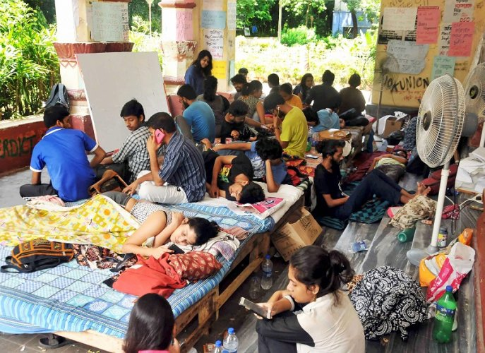 Jadavpur University has decided to provide accomodation to about 12 new admissions from Kashmir valley in its hostel immediately on a priority basis. (PTI File Photo)