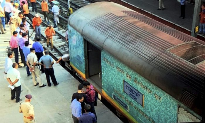 Railways has suspended a train ticket examiner and taken a waiter off duty after a woman was allegedly molested by them on board the Delhi-Ranchi Rajdhani Express. (PTI Photo)