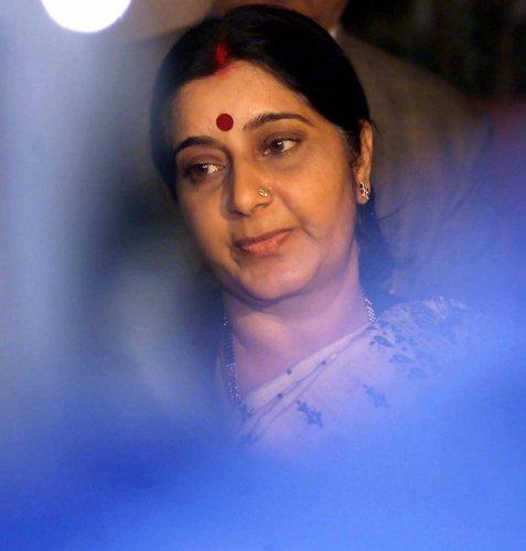 Sushma Swaraj (PTI File Photo)