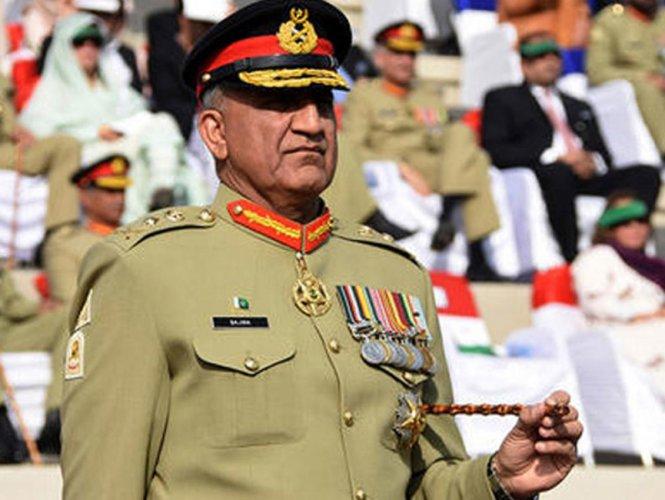 Pakistan Army chief General Qamar Javed Bajwa. DH Photo