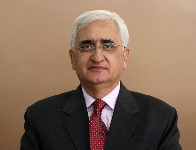Former external affairs minister Salman Khurshid. File photo