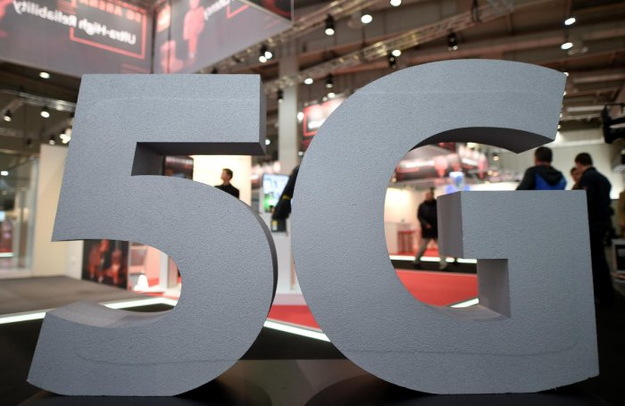 The 5G networking standard is seen as critical because it can support the next generation of mobile devices in addition to new applications like driverless cars. (Reuters File Photo)