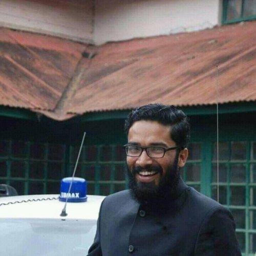 IAS officer in Kerala Sriram Venkitaraman. DH Photo