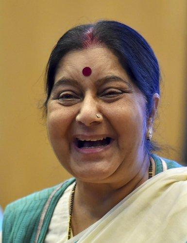 Sushma Swaraj. (PTI Photo)