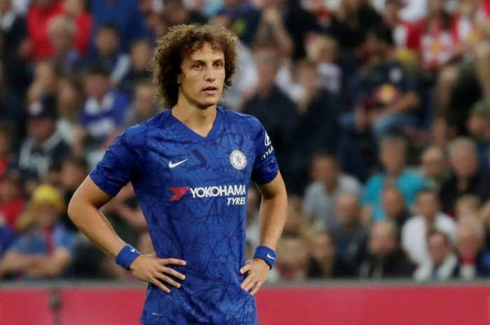 Arsenal are expected to complete moves for David Luiz from Chelsea. Reuters photo