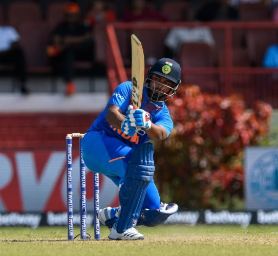 Young Rishabh Pant will be hoping for an impressive outing in the ODI series that kicks off on Thursday. AFP