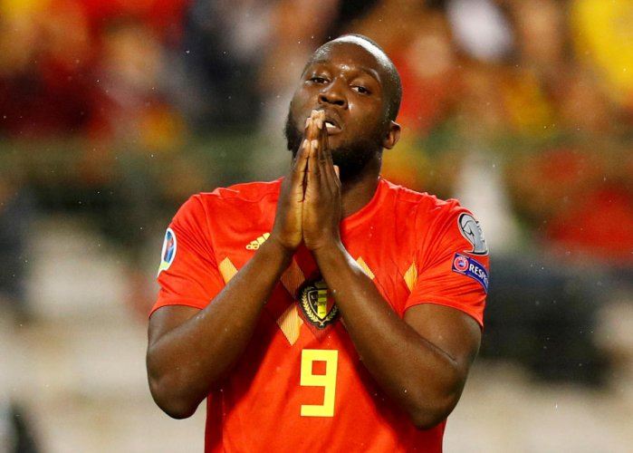 Romelu Lukaku completed his long-awaited move to Inter Milan from Manchester United on Thursday after the Serie A club announced his arrival in Italy on a five-year deal. Reuters Photo