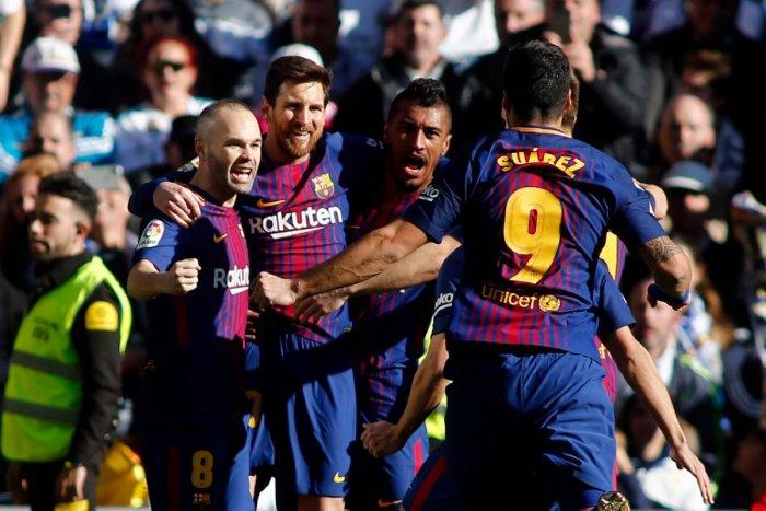 Real Madrid vs Barcelona. AFP File Photo