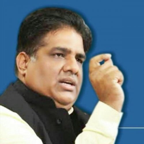 The BJP on Friday appointed national general secretary Bhupendra Yadav as its in-charge of the assembly elections in Maharashtra. Photo Twitter