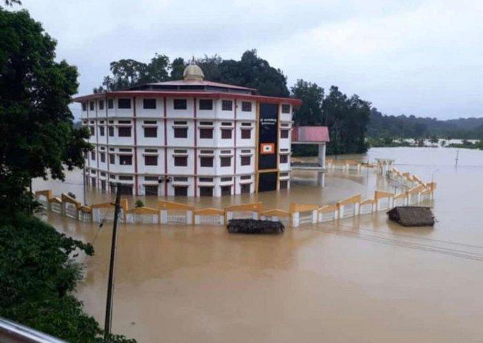 Flooding in Virajpet
