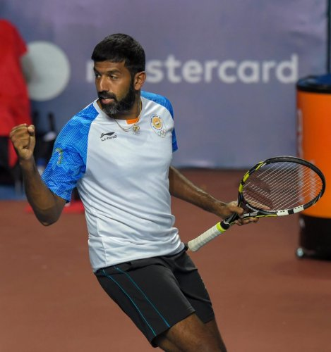 Indian tennis player Rohan Bopanna (PTI Photo)