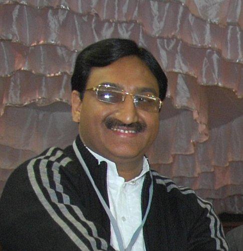 "Union HRD Minister Ramesh Pokhriyal ""Nishank"""